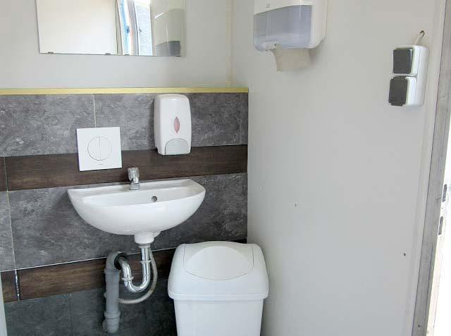 Toilettencontainer von innen